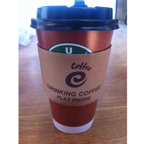 Custom Logo Printed Coffee Cups Disposable Hot Drinks Paper Cup