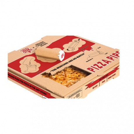 Custom Logo Printing Corrugated Carton Pizza Packing Box