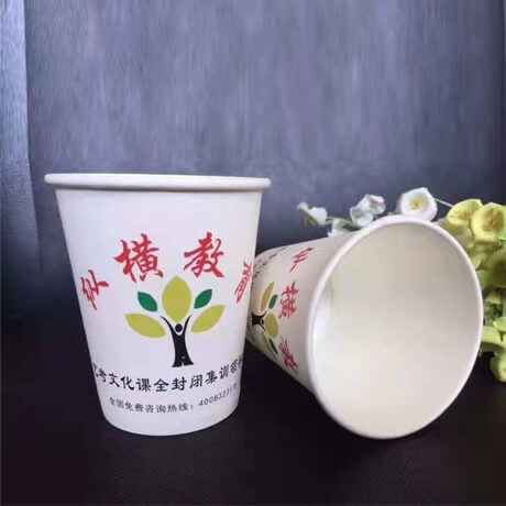 Customized Eco Blank Disposable Cold Drink Lid Paper Cup For Hot Drink