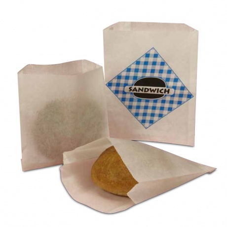 Food Grade Greaseproof Paper Bag With Customized Printing For French Fries