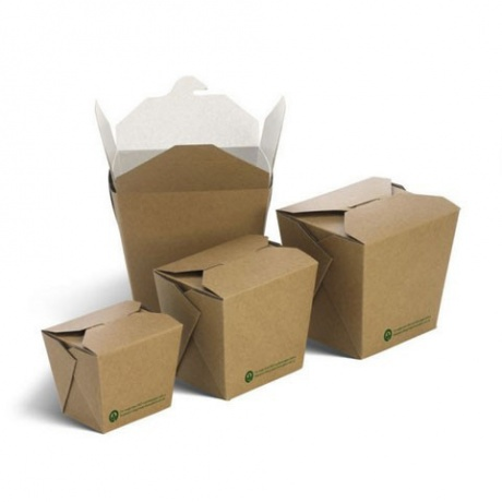Food Grade Custom Noodle Take Away Boxs