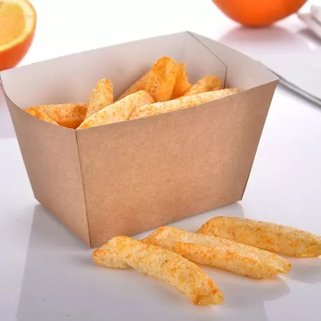 Customized Disposable Paper French Fry Cup Container