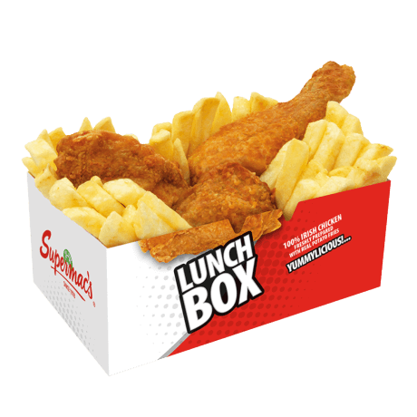 Customized Paper Fried Chicken Box