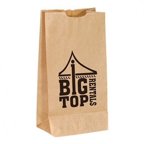 Customized French Toast China Manufacturer Greaseproof Colorful Printing Take Away Kraft Paper Bag