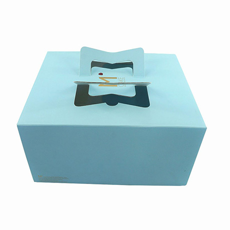 Customized Paper Cardboard Decorative Cake Boxes