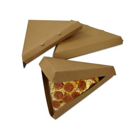 Custom Pizza Slice Boxes Wholesale Food Grade Container