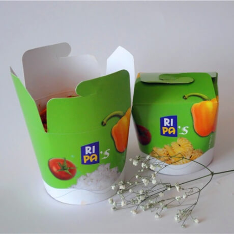 Customized Disposable Noodle Box High Quality Pasta Box