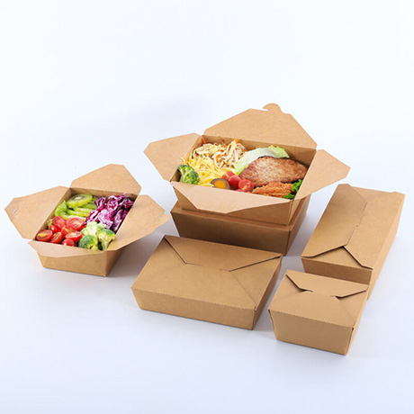 Customized Take Out paper Chinese Noodle Bowl