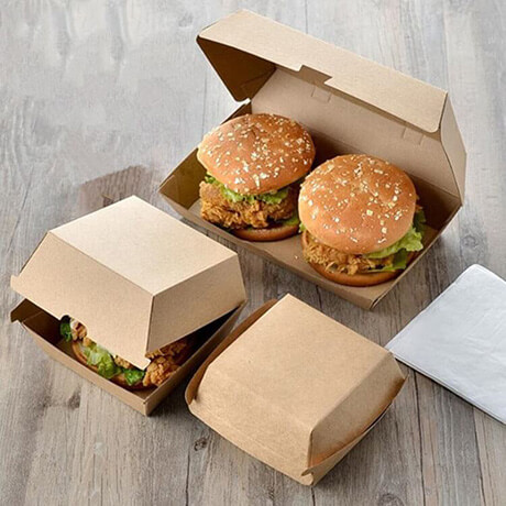 Custom Logo Take Away Burger Box