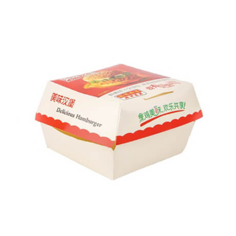 Customized Printing Packing Burger Box