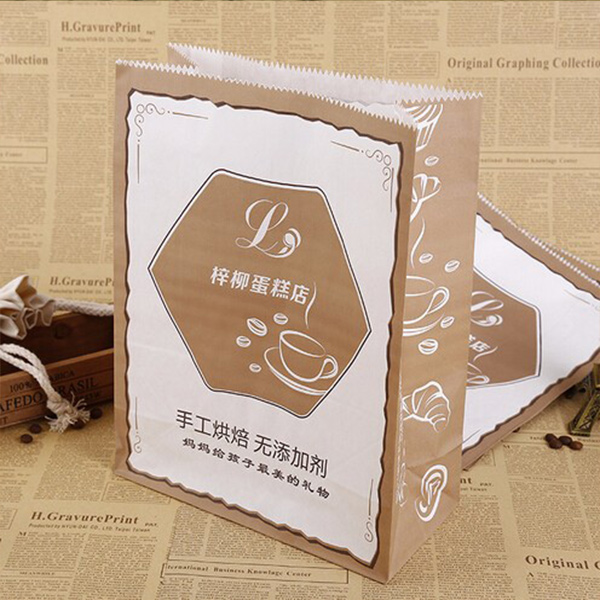 Special Packaging Cowhide Food Bag Custom