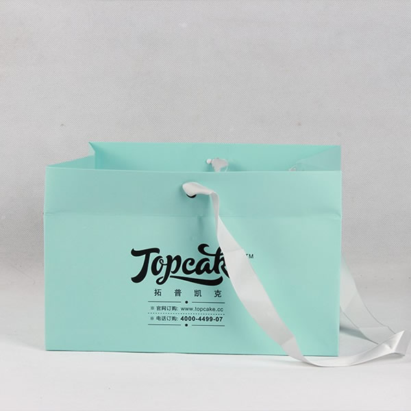 TOPCAKE Large Exquisite Gift Copperplate Paper Bag Customization